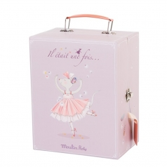 armadio valigetta topina ballerina con vestiti