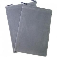 sacchetta porta dadi grande - grigio