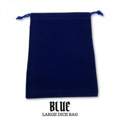 sacchetta porta dadi grande - royal blu