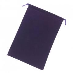 sacchetta porta dadi grande - viola