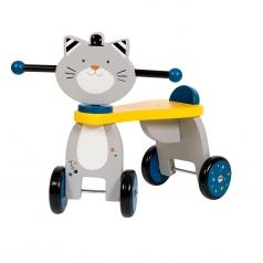 quadriciclo in legno - gatto
