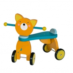 quadriciclo in legno - volpe