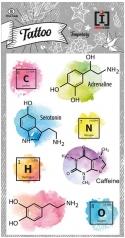 tattoo chemical symbols - tattoo