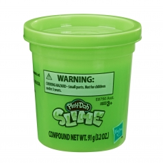 play-doh slime barattolo verde 91g