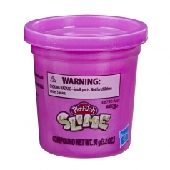 play-doh slime barattolo viola 91g