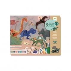 il mondo dei dinosauri - set creativo multiattivita