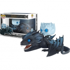 game of thrones - night king and icy viserion - funko pop 58