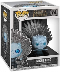 game of thrones - night king sitting on the throne - funko pop 74