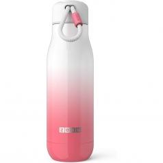 borraccia termica acciaio inox - 500ml rosa e bianco