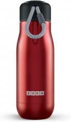 borraccia termica acciaio inox - 350ml rosso