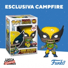 marvel zombies - zombie wolverine lucca changes exclusive - funko pop 662