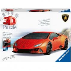 lamborghini huracan evo - puzzle 3d 108 pezzi