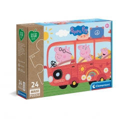 peppa pig - puzzle 24 pezzi maxi - play for future