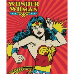 wonder woman - diamond dotz advanced cd234000210 47x57cm