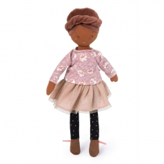 bambola mademoiselle rose 26cm les parisiennes
