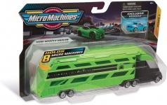 micro machines - camion bisarca con veicolo