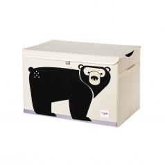 baule portagiochi orso bruno
