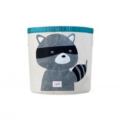 cesto portatutto orsetto lavatore 100% cotone