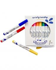 pennarelli lavabili, confezione da 9 - scrivono su tantissime superfici