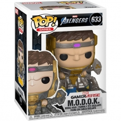 marvel avengers - m.o.d.o.k. - funko pop 633