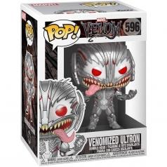 marvel venom - venomized ultron - funko pop 596