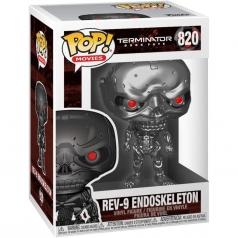 terminator dark fate - rev9 endoskeleton - funko pop 820