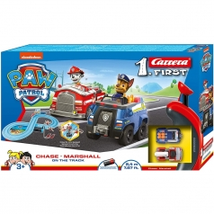carrera first - paw patrol on the track
