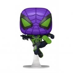 marvel's spider man: miles morales - miles morales (purple reign suit metallic) - funko pop