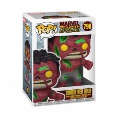 marvel: zombies - zombie red hulk - funko pop 790