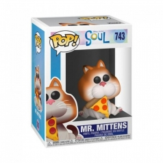 disney: soul - mr. mittens - funko pop 743