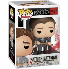 american psycho - patrick with axe - funko pop