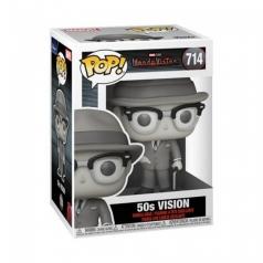 marvel: wandavision - 50's vision - funko pop 714