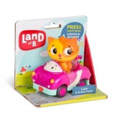 gattino con macchina con luci e suoni