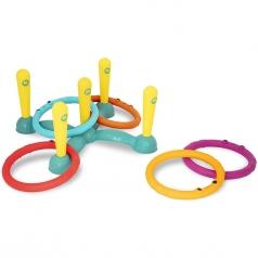 ring toss - gioco degli anelli con bersaglio da terra