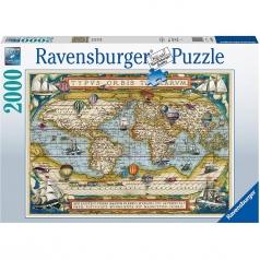 intorno al mondo - puzzle 2000 pezzi