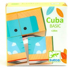 cubabasic - puzzle cubi in legno
