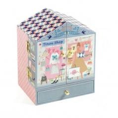 tinou shop - carillon con box con cassetti