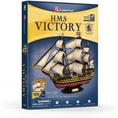 hms victory - puzzle 3d 189 pezzi