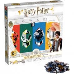 harry potter house crests - puzzle 500 pezzi