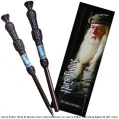 harry potter penna bacchetta magica e segnalibro - albus silente