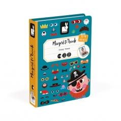 libro magnetico crazy faces ragazzo