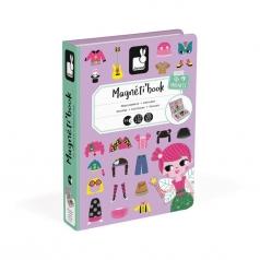 libro magnetico costumi ragazza
