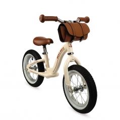 bicicletta vintage senza pedali bikloon metal beige