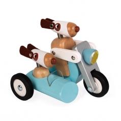 spirit sidecar in legno philip