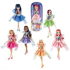winx magic ribbon - bambola 30cm - un personaggio assortito