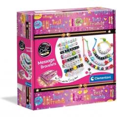 crazy chic - message bracelets