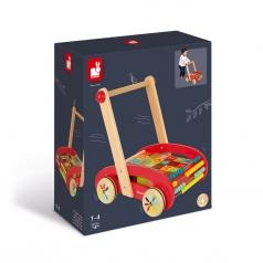 carrello abc buggy tatoo 30 cubi in legno