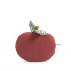 cuscino mela in cotone apres la pluie
