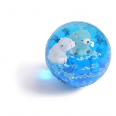 palla rimbalzante con acqua orsetti
