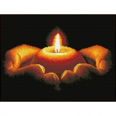 daily prayer - diamond dotz squares dq8.005 41x31cm
